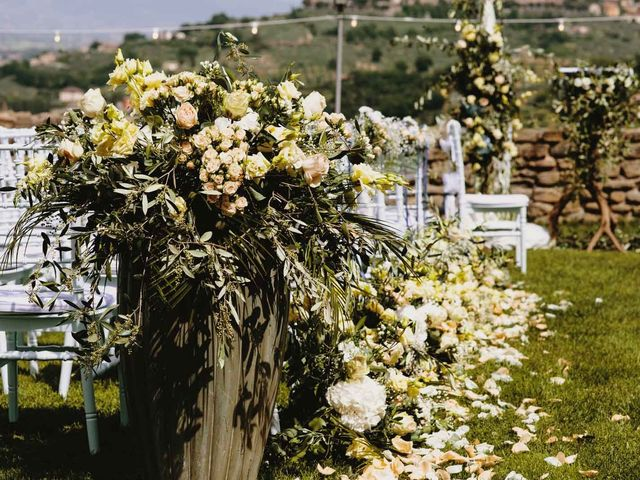 Il matrimonio di Matthew e Monica a Torgiano, Perugia 20