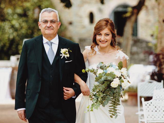 Il matrimonio di Matthew e Monica a Torgiano, Perugia 25