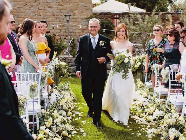 Il matrimonio di Matthew e Monica a Torgiano, Perugia 27