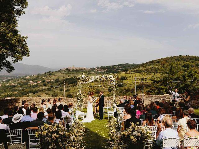 Il matrimonio di Matthew e Monica a Torgiano, Perugia 32