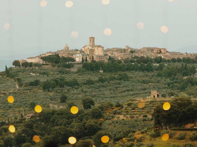 Il matrimonio di Matthew e Monica a Torgiano, Perugia 2