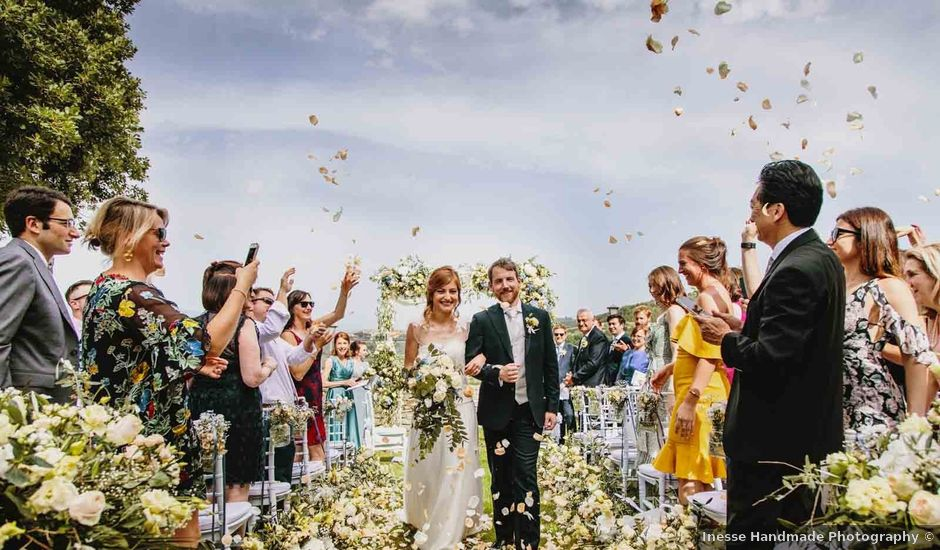 Il matrimonio di Matthew e Monica a Torgiano, Perugia