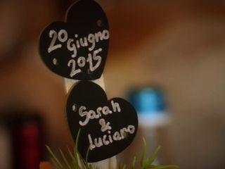 le nozze di Sarah e Luciano 1