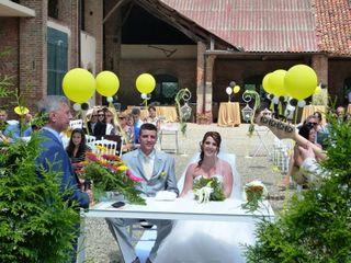 Le nozze di Sarah e Luciano