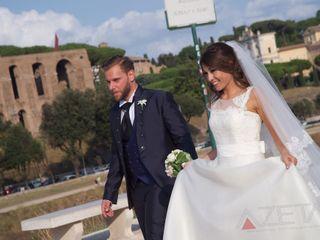 Le nozze di Claudia e Valerio 1