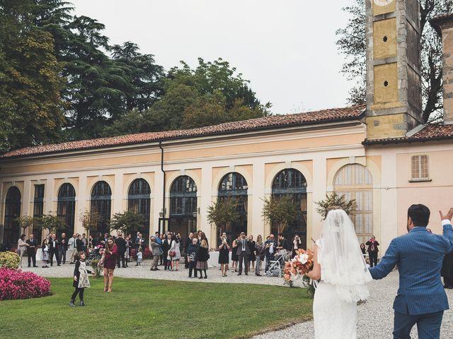 Il matrimonio di Vincenzo e Patrizia a Inverigo, Como 91