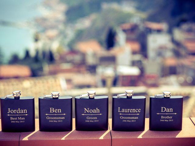 Il matrimonio di Noah e Naomi a Taormina, Messina 6