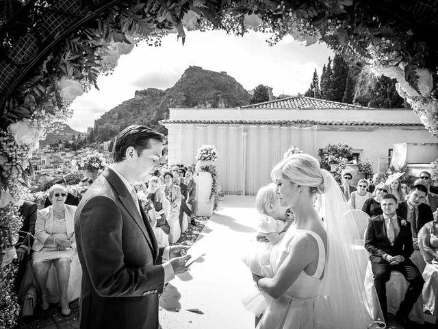 Il matrimonio di Noah e Naomi a Taormina, Messina 12