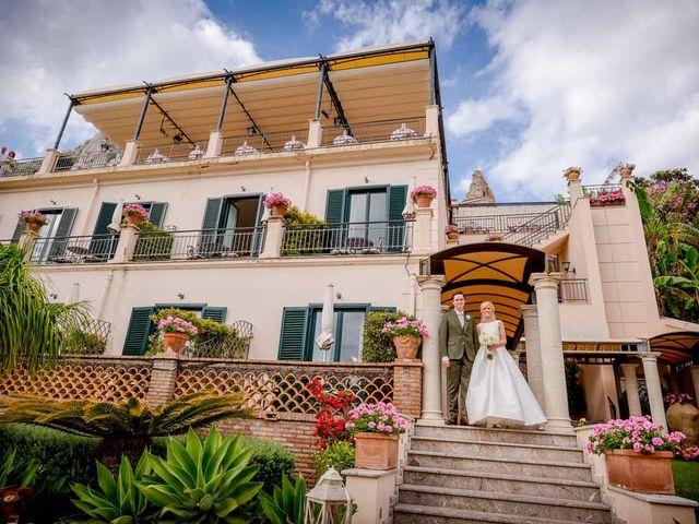 Il matrimonio di Noah e Naomi a Taormina, Messina 20