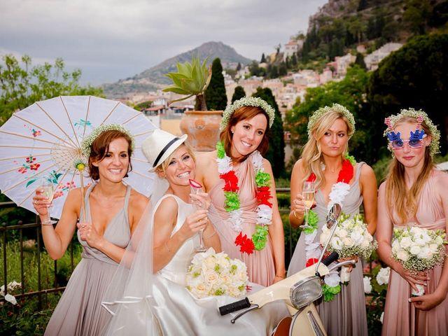 Il matrimonio di Noah e Naomi a Taormina, Messina 24