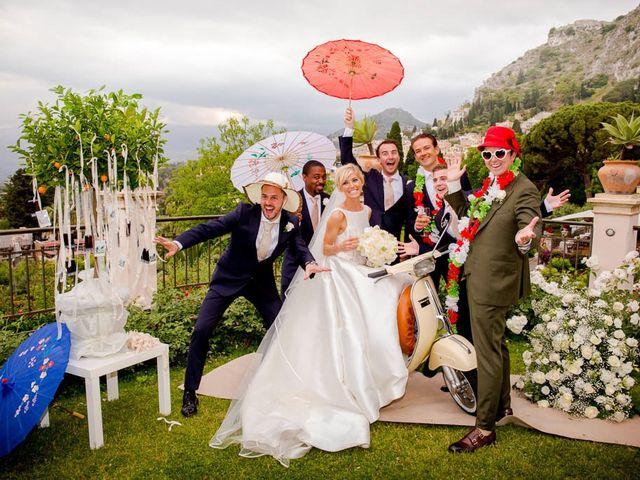 Il matrimonio di Noah e Naomi a Taormina, Messina 25