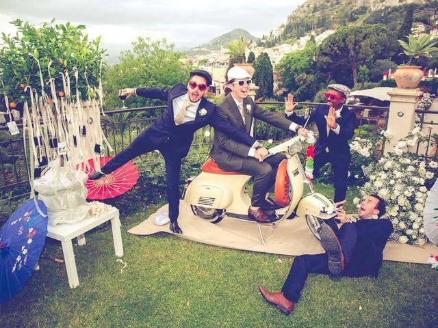 Il matrimonio di Noah e Naomi a Taormina, Messina 26