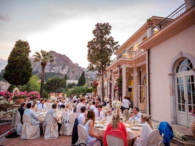 Il matrimonio di Noah e Naomi a Taormina, Messina 33