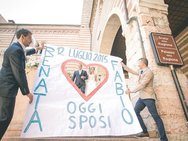 Il matrimonio di Fabio e Renata a Verona, Verona 111