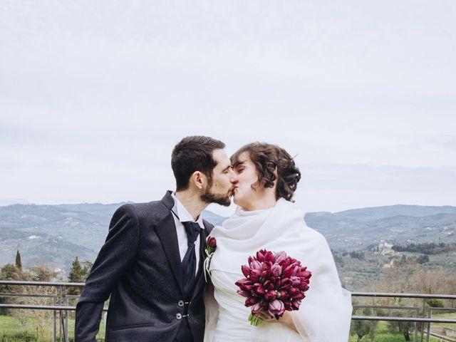 Il matrimonio di Andrea e Giulia a Fiesole, Firenze 14