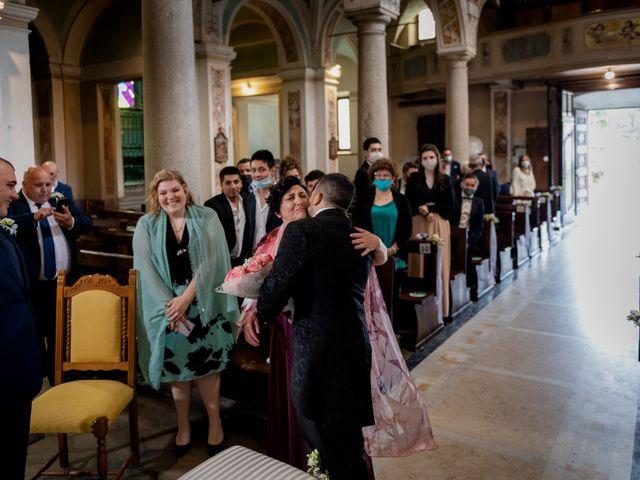 Il matrimonio di Stefano e Angelica a Prato Sesia, Novara 33