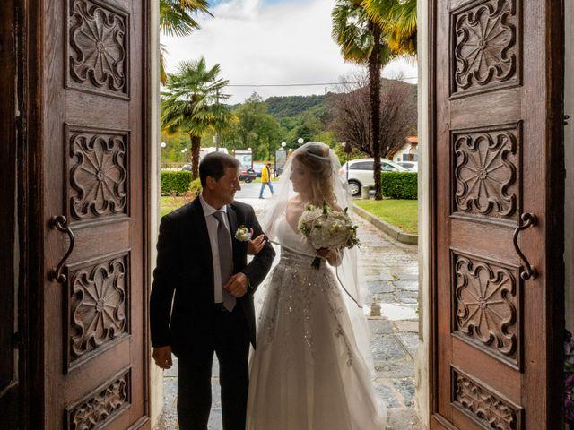 Il matrimonio di Stefano e Angelica a Prato Sesia, Novara 36