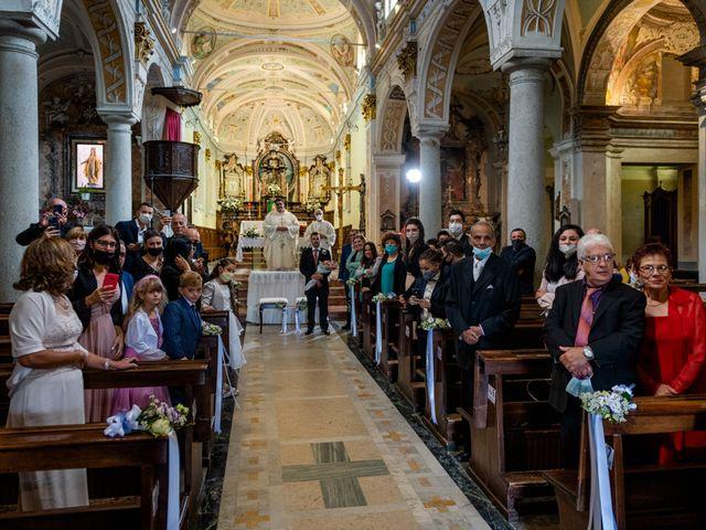 Il matrimonio di Stefano e Angelica a Prato Sesia, Novara 37