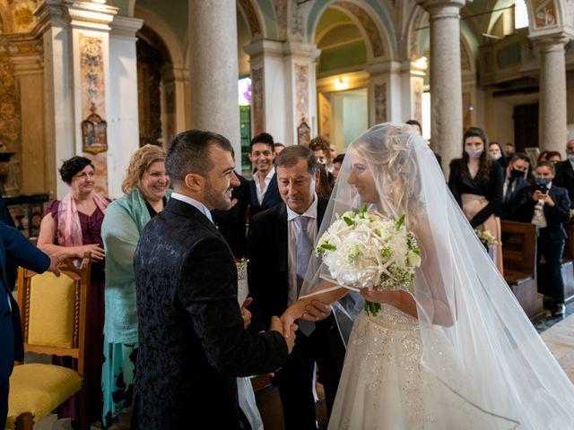 Il matrimonio di Stefano e Angelica a Prato Sesia, Novara 38