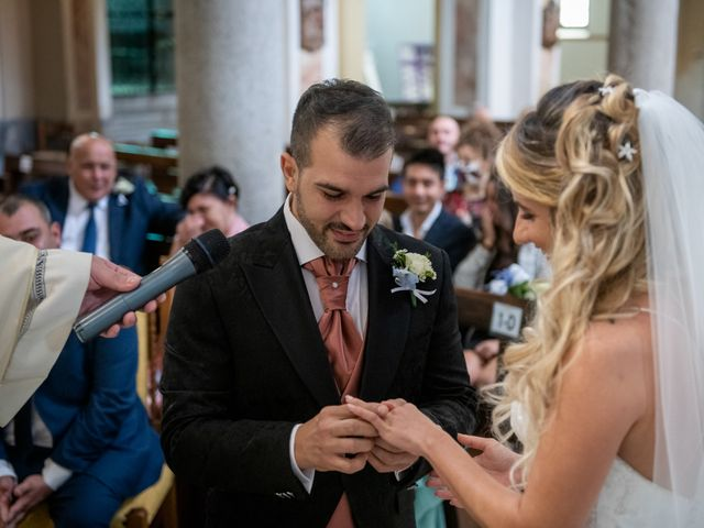 Il matrimonio di Stefano e Angelica a Prato Sesia, Novara 43