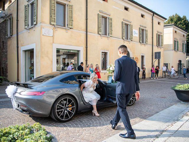 Il matrimonio di Elena e Andrea a Ghedi, Brescia 12