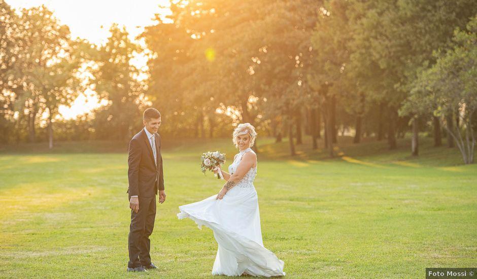 Il matrimonio di Elena e Andrea a Ghedi, Brescia