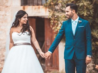 Le nozze di Vanessa e Gregory