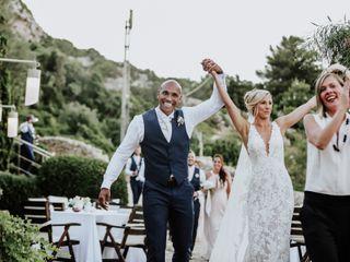 Le nozze di Gina e Charlton 1