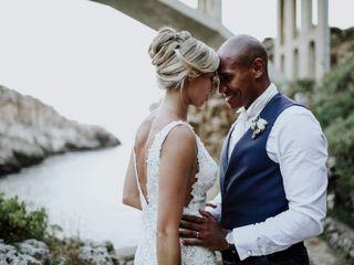 Le nozze di Gina e Charlton
