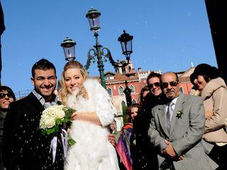 Le nozze di Cristine e Bernard 1