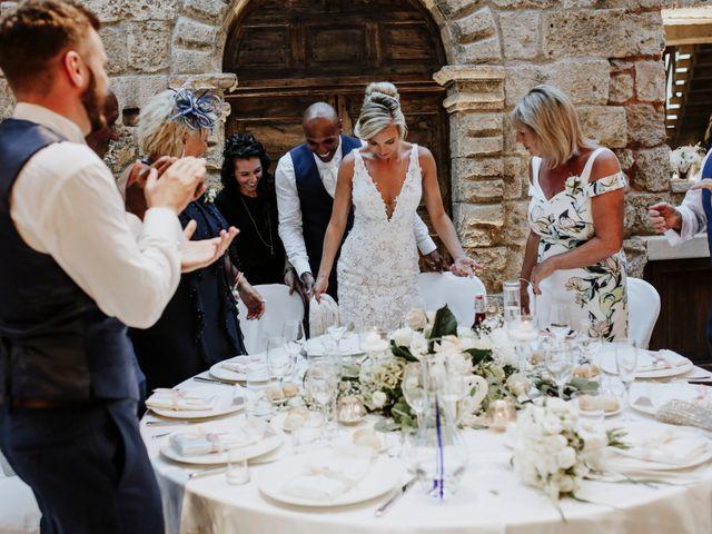 Il matrimonio di Charlton e Gina a Morciano di Leuca, Lecce 37