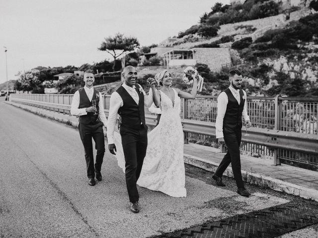 Il matrimonio di Charlton e Gina a Morciano di Leuca, Lecce 41