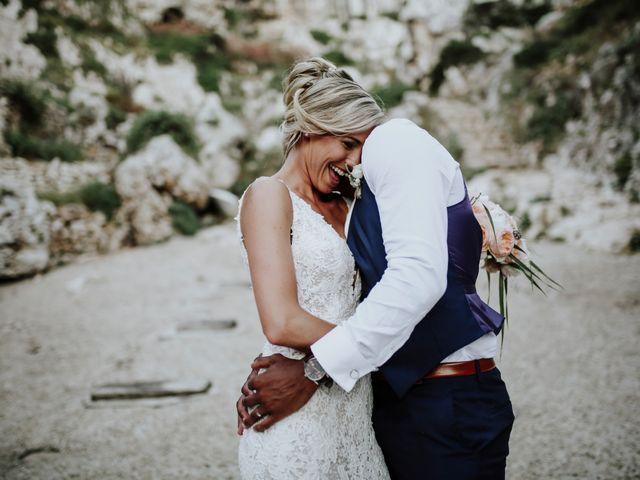 Il matrimonio di Charlton e Gina a Morciano di Leuca, Lecce 43