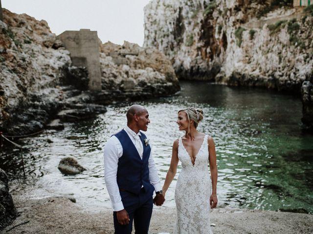 Il matrimonio di Charlton e Gina a Morciano di Leuca, Lecce 50