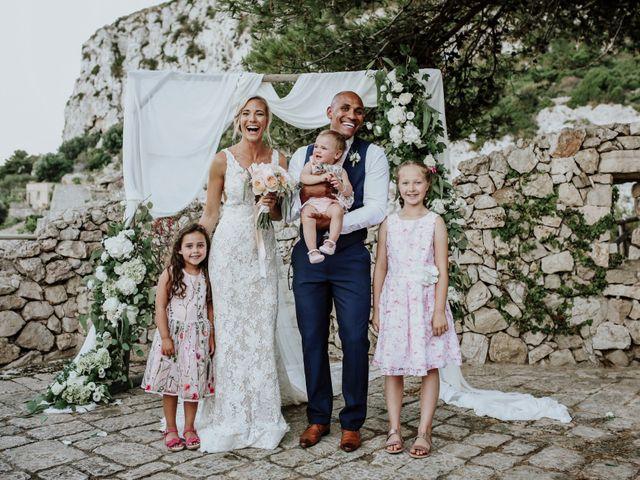 Il matrimonio di Charlton e Gina a Morciano di Leuca, Lecce 56