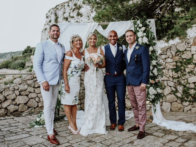 Il matrimonio di Charlton e Gina a Morciano di Leuca, Lecce 58
