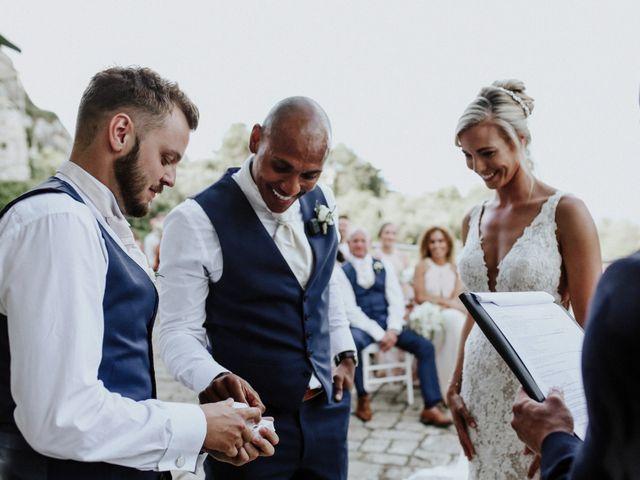 Il matrimonio di Charlton e Gina a Morciano di Leuca, Lecce 74