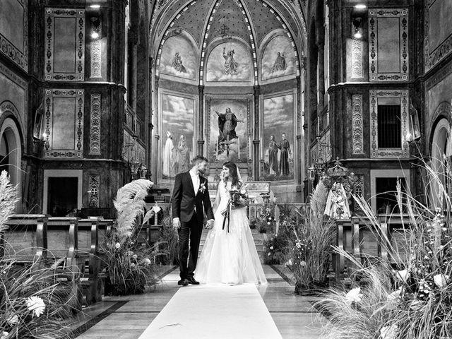 Il matrimonio di Emiliano e Francesca a Mezzane di Sotto, Verona 51