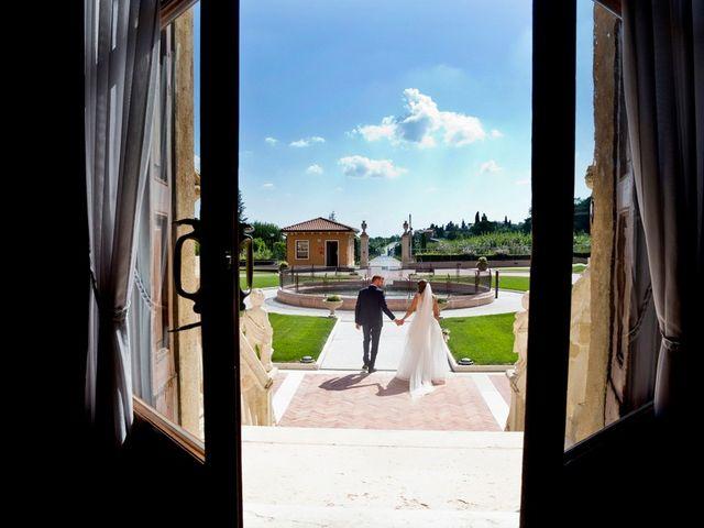 Il matrimonio di Emiliano e Francesca a Mezzane di Sotto, Verona 68