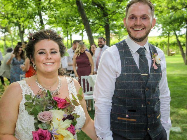 Le nozze di Laura e Josh