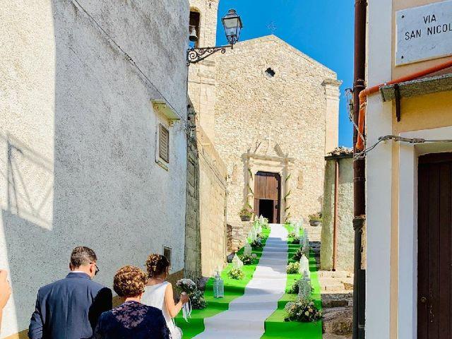Il matrimonio di Gioacchino  e Caterina  a Palazzo Adriano, Palermo 1