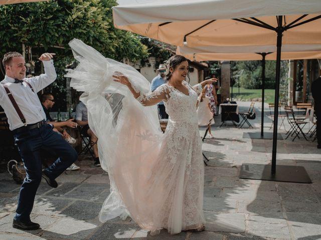 Il matrimonio di Athos e Zaira a Varese, Varese 71