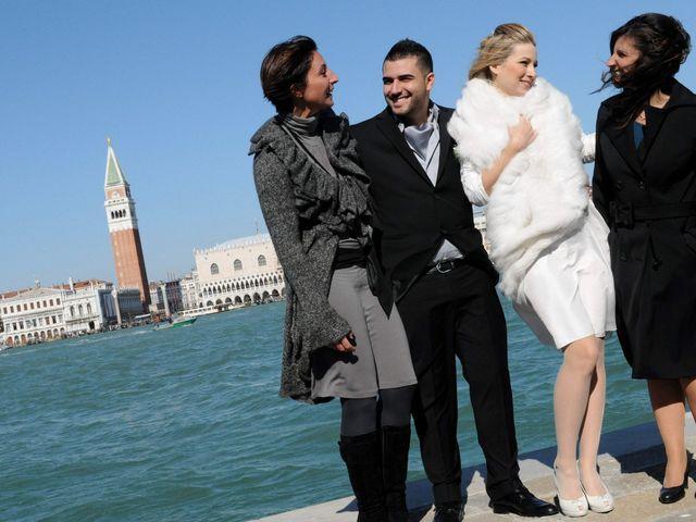 Il matrimonio di Bernard e Cristine a Venezia, Venezia 10
