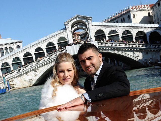 Il matrimonio di Bernard e Cristine a Venezia, Venezia 1