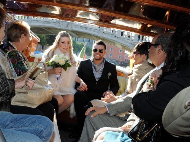 Il matrimonio di Bernard e Cristine a Venezia, Venezia 13