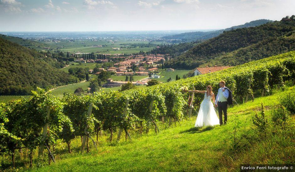 Il matrimonio di Emiliano e Francesca a Mezzane di Sotto, Verona