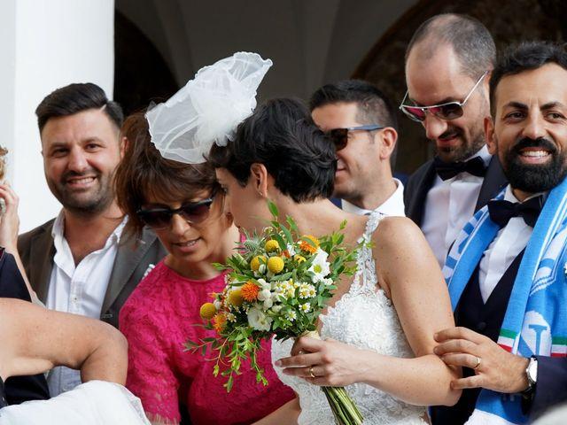 Il matrimonio di Angelo e Veria a Nola, Napoli 1