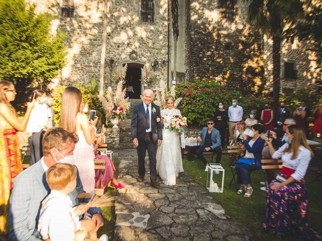 Il matrimonio di Gianmarco e Silvia a Filattiera, Massa Carrara 30