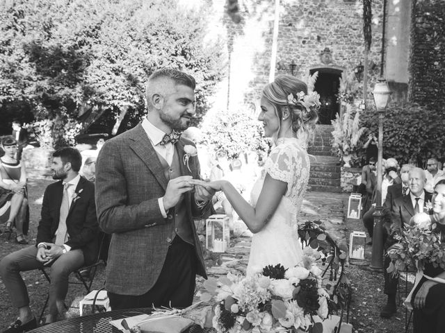 Il matrimonio di Gianmarco e Silvia a Filattiera, Massa Carrara 36