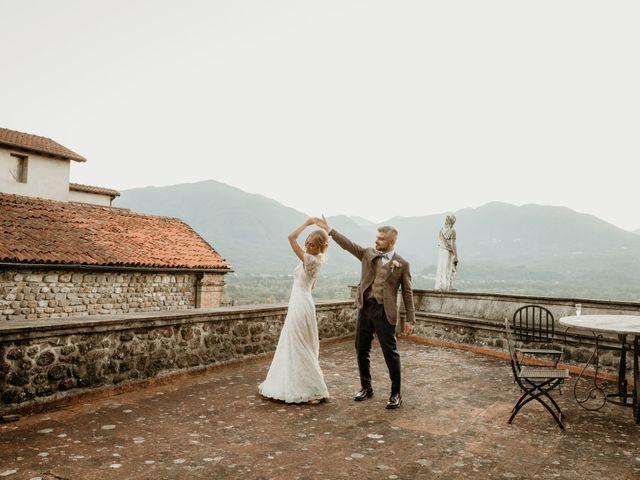 Il matrimonio di Gianmarco e Silvia a Filattiera, Massa Carrara 61